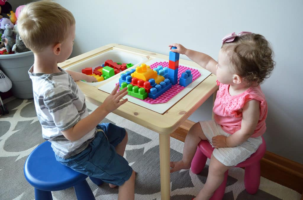 The Best LEGO Table (IKEA HACK)