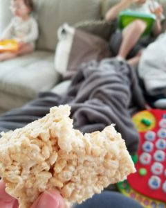 Classic Rice Crispy Treats Save The Day