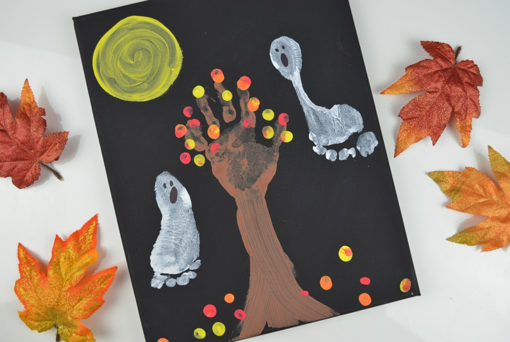 Halloween Ghost Canvas