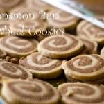 Cinnamon Bun Pinwheel Cookies
