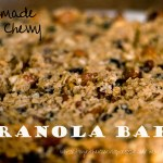 Chewy Granola Bars – From Scratch