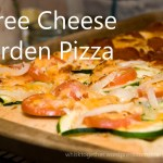 Three Cheese Garden Pizza