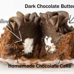 Chocolate Cupcakes with Cream Filling (Like Hostess)