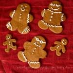 Chewy Gingerbread Men