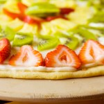 Fruit Pizza with Homemade Crust