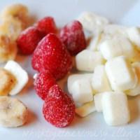 Strawberry Banana Smoothie - Costco Style