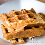 Oat Waffles and Freezer Burritos
