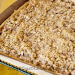 Apple Crisp Pizza for a Crowd