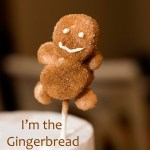 Gingerbread Marshmallow Man