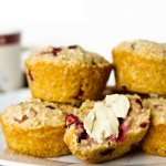 Cranberry Orange Whole Grain Muffin