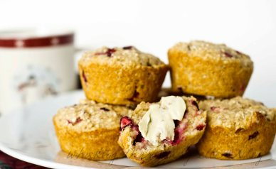 cranberry orange muffin_2CR