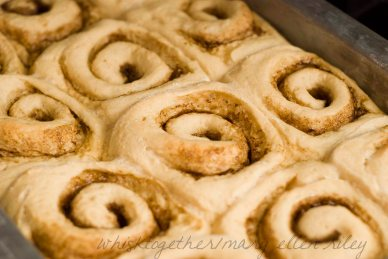 Light Cinnamon Roll on Whisk Together