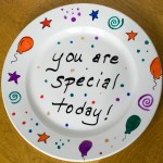 Make Your Own Celebration Plate!