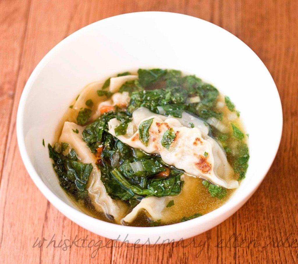 potsticker soup on Whisk Together 1