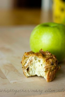 Paleo Apple Muffins_5 on Whisk Together