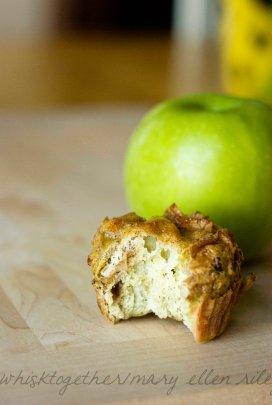 Paleo Apple Muffins_5 on Whisk Together