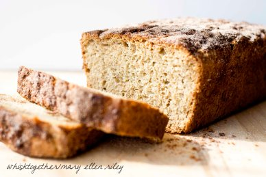 No Knead Cinnamon Honey Oatmeal Bread_7 on Whisk Together