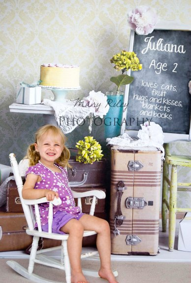 Juliana with Chalkboard Copyright