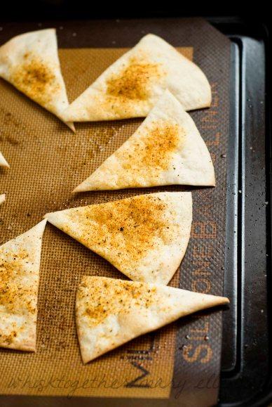 Baked Tortilla Chips_11 on Whisk Together