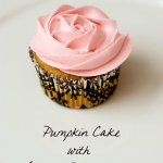 Pumpkin Cake with Maple Buttercream