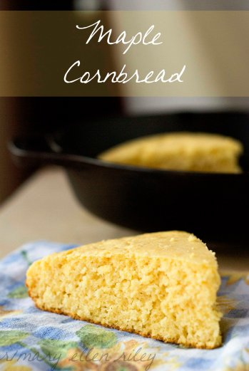 Maple Cornbread on Whisk Together