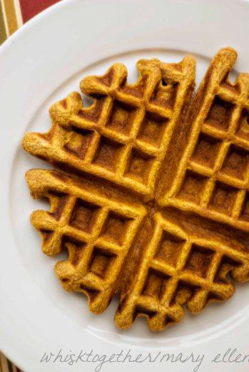 Pumpkin Waffles_3 on Whisk Together