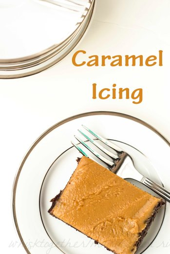 Caramel Icing_5 on Whisk Together