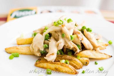 Chicken and Cheese Poutine_2 on Whisk Together
