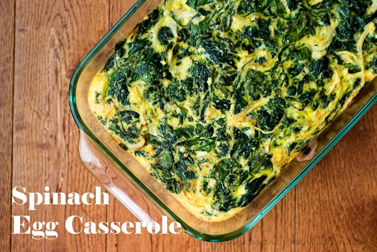Spinach Egg Casserole