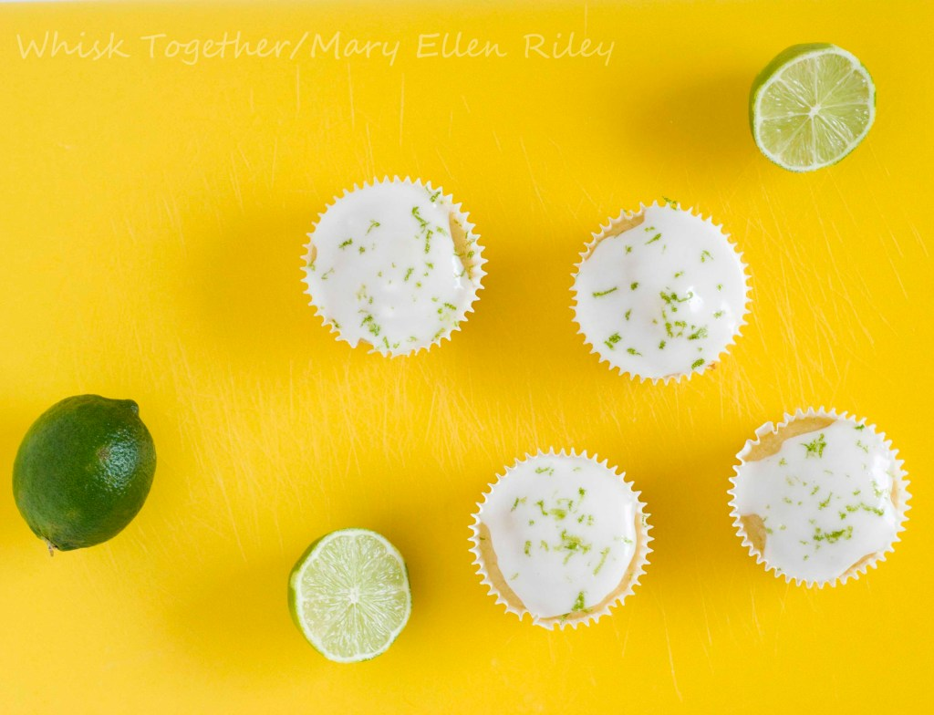Lime Cupcakes_4 at Whisk Together