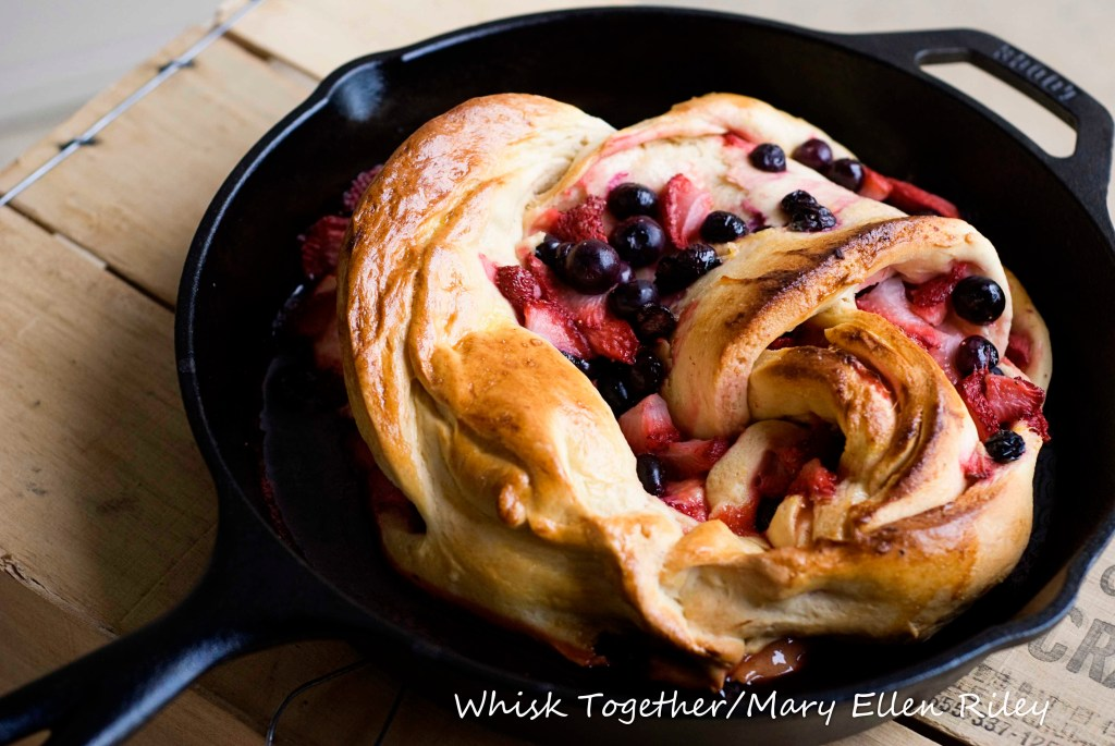 Berry Twist Bread_2 on Whisk Together