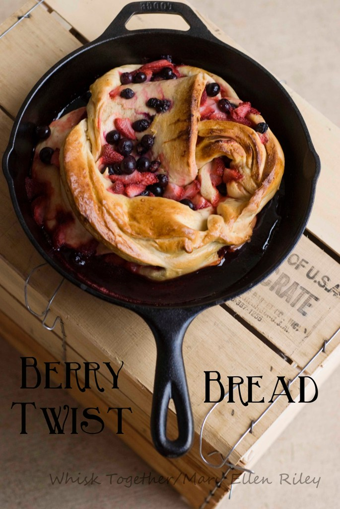 Berry Twist Bread_3 on Whisk Together