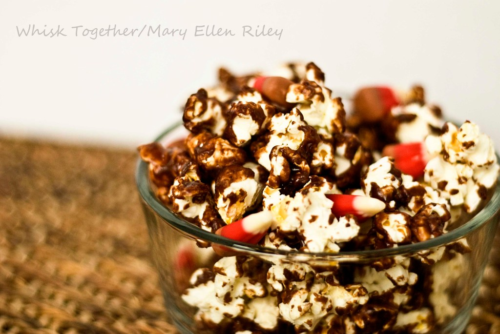 Chocolate Popcorn_4 on Whisk Together