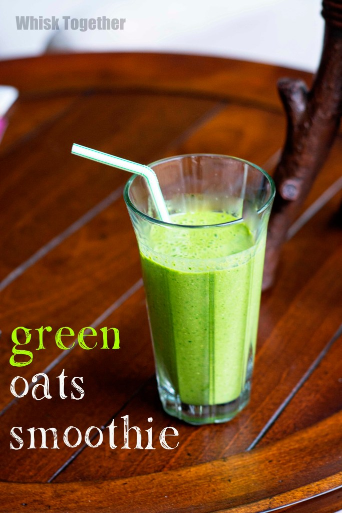 Green Oats Smoothie_3 on Whisk Together