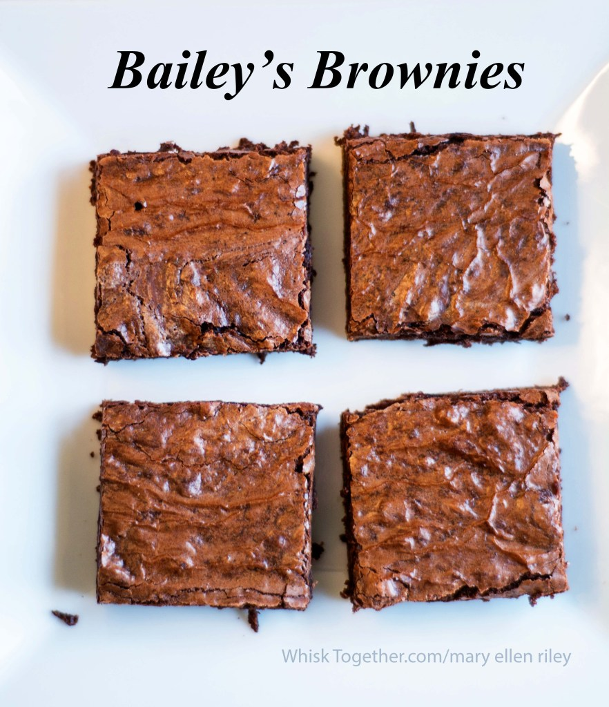 Bailey's Brownies-2016 on Whisk Together