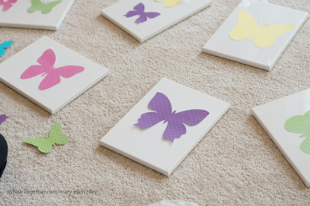 Butterfly Wall-1963 on Whisk Together