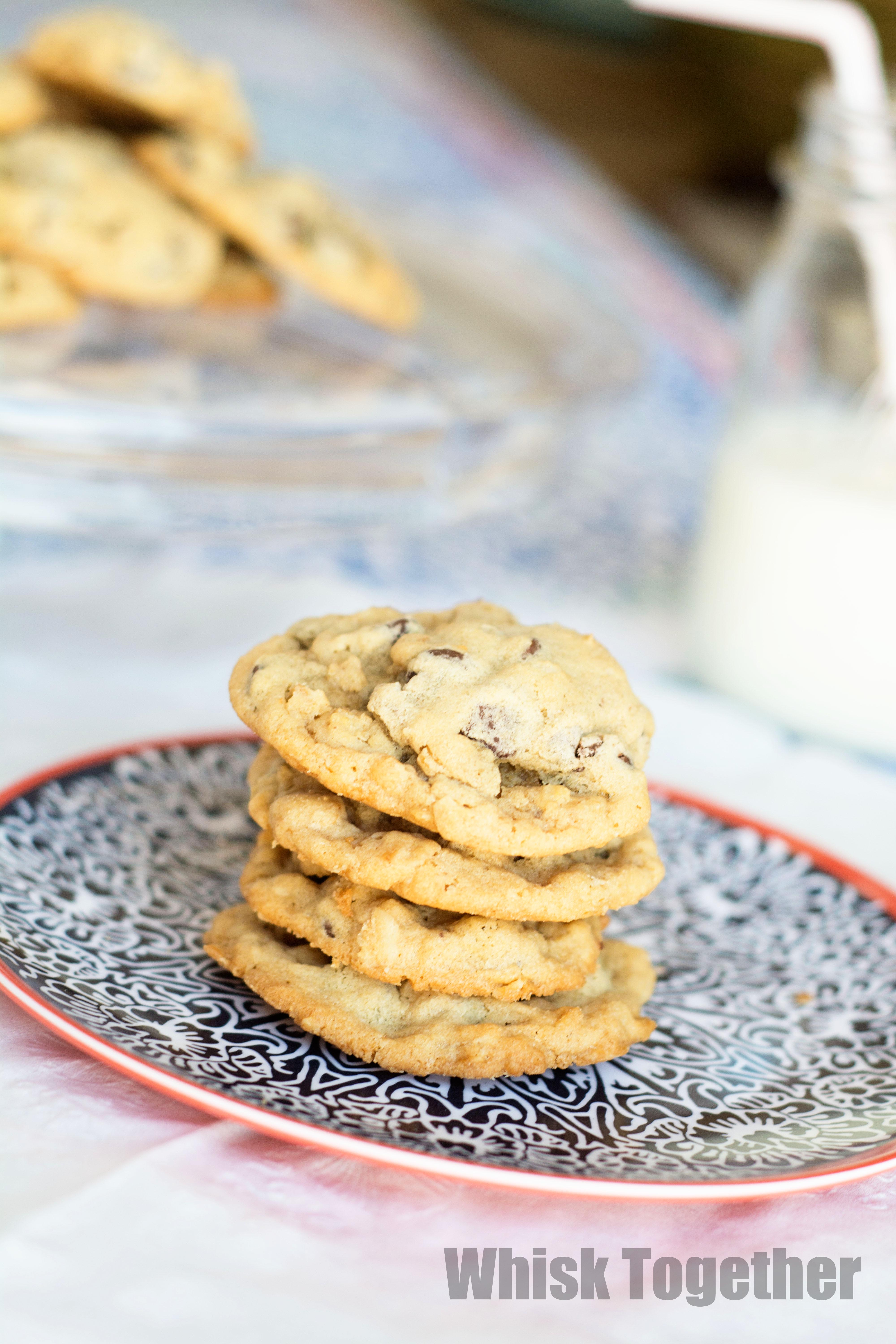 Chewy Chocolate Chip Cookies on Whisk Together.com