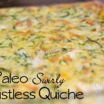 Paleo Swirly Crustless Quiche