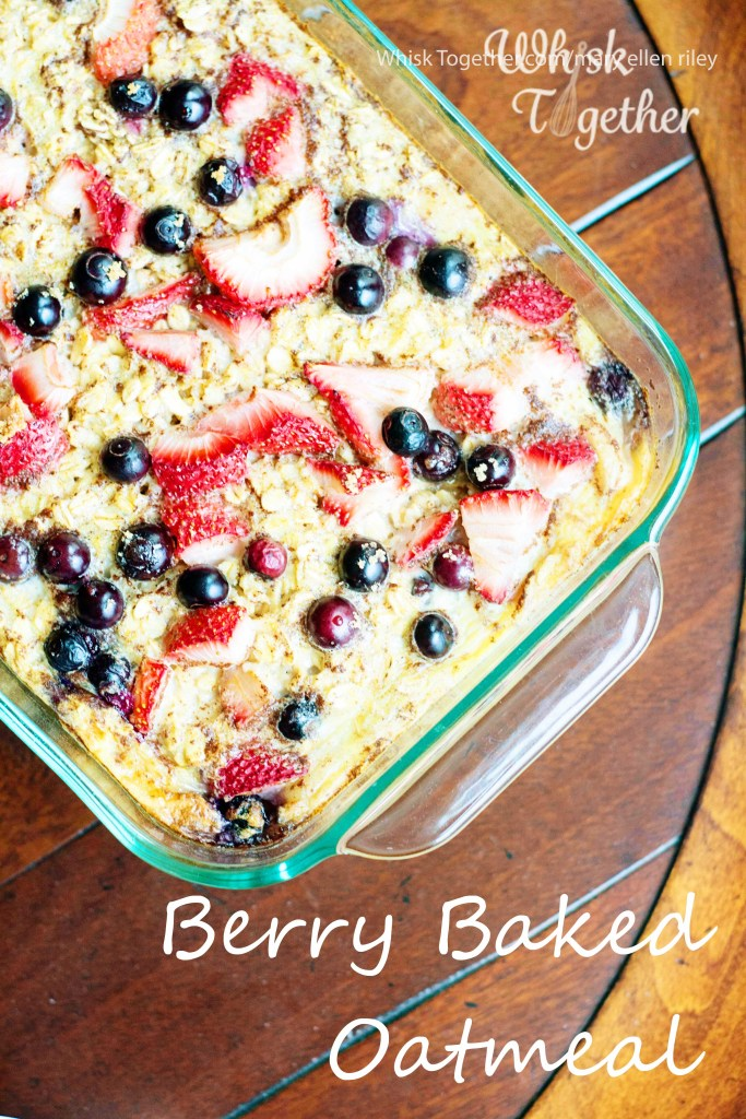 Berry Baked Oatmeal-1927 on Whisk Together