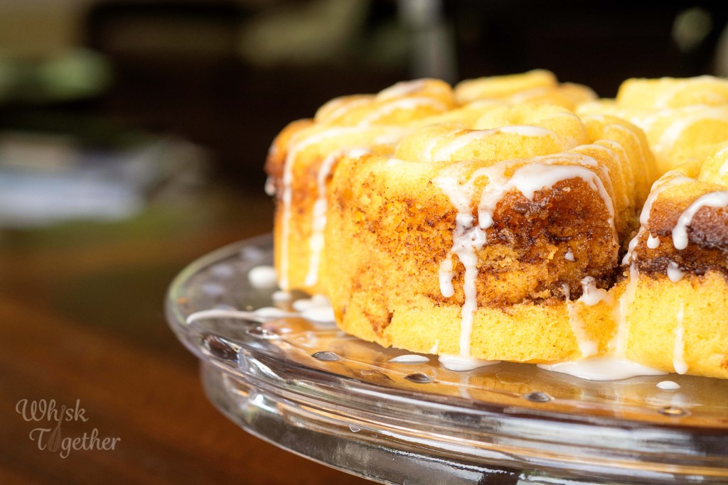 Cinnamon Bun Cake-2595 on Whisk Together