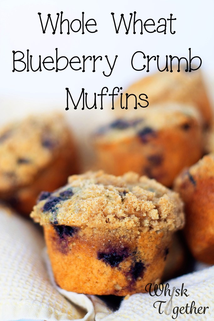 Whole Wheat Blueberry Crumb Muffins-2278 on Whisk Together