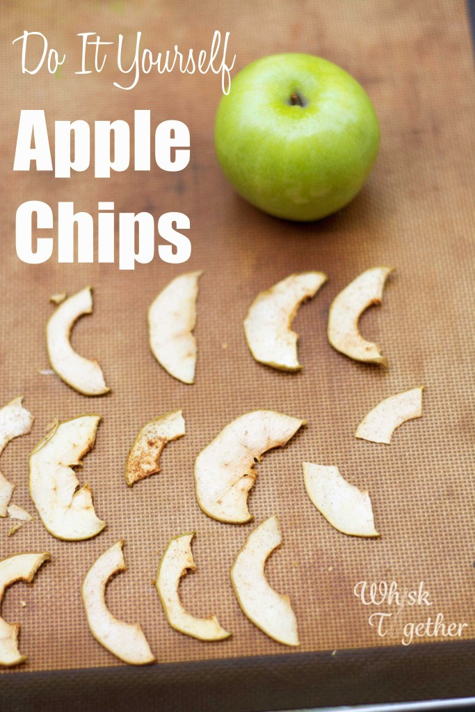 Apple Chips on Whisk Together
