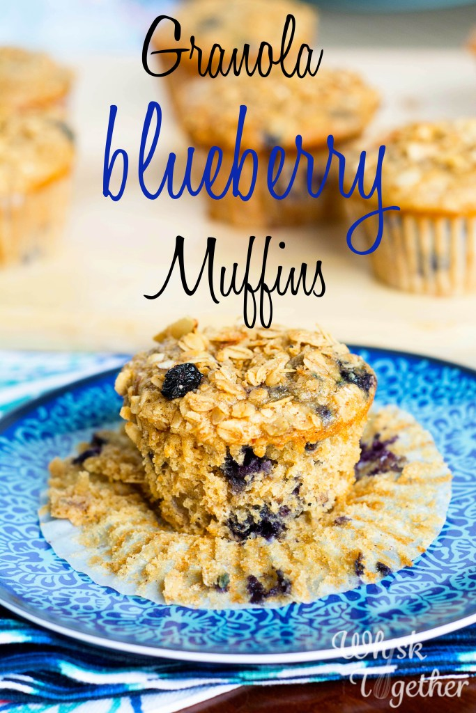Granola Blueberry Muffins-2650 on Whisk Together