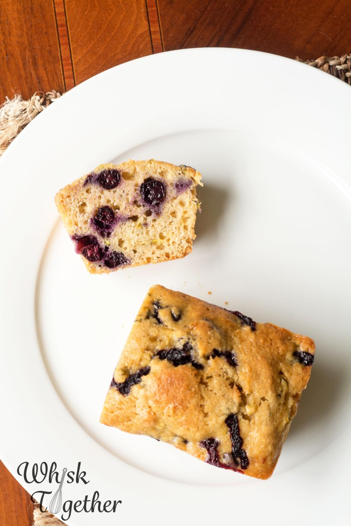 Lemon Blueberry Zucchini Bread-3114 on Whisk Together
