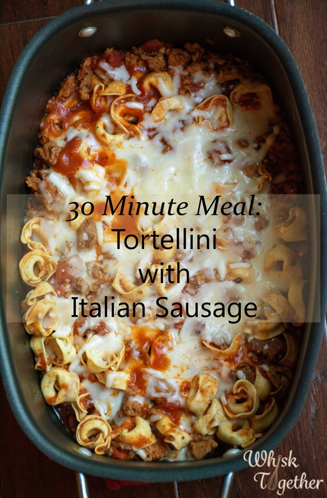 Tortellini with Red Sauce on Whisk Together 2-3078