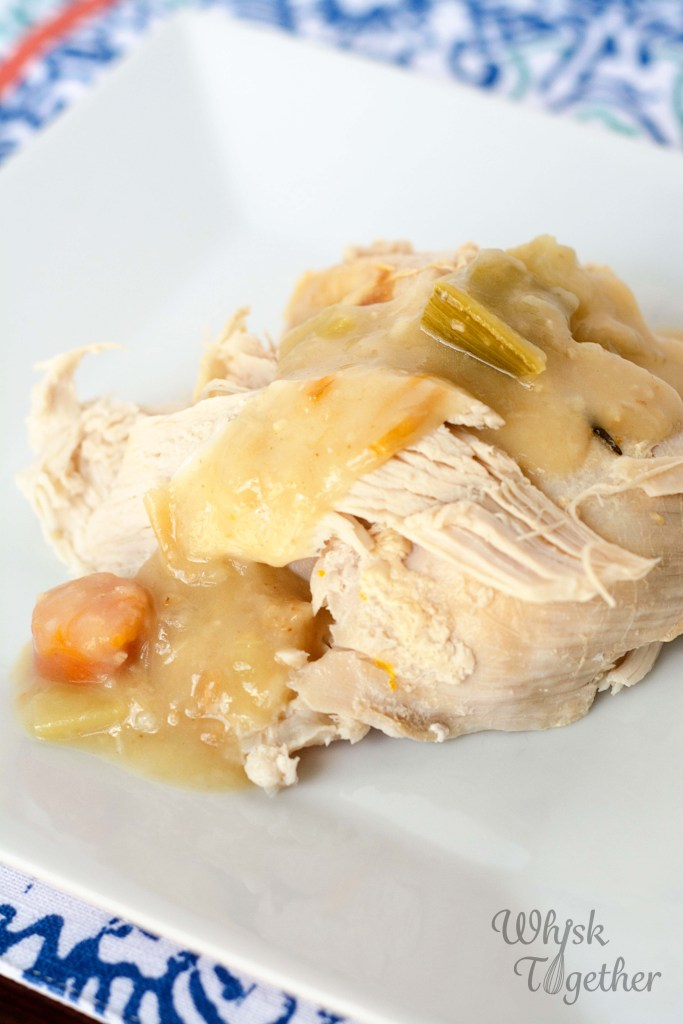 Slow Cooker Turkey Breast and Gravy-4501 on Whisk Together