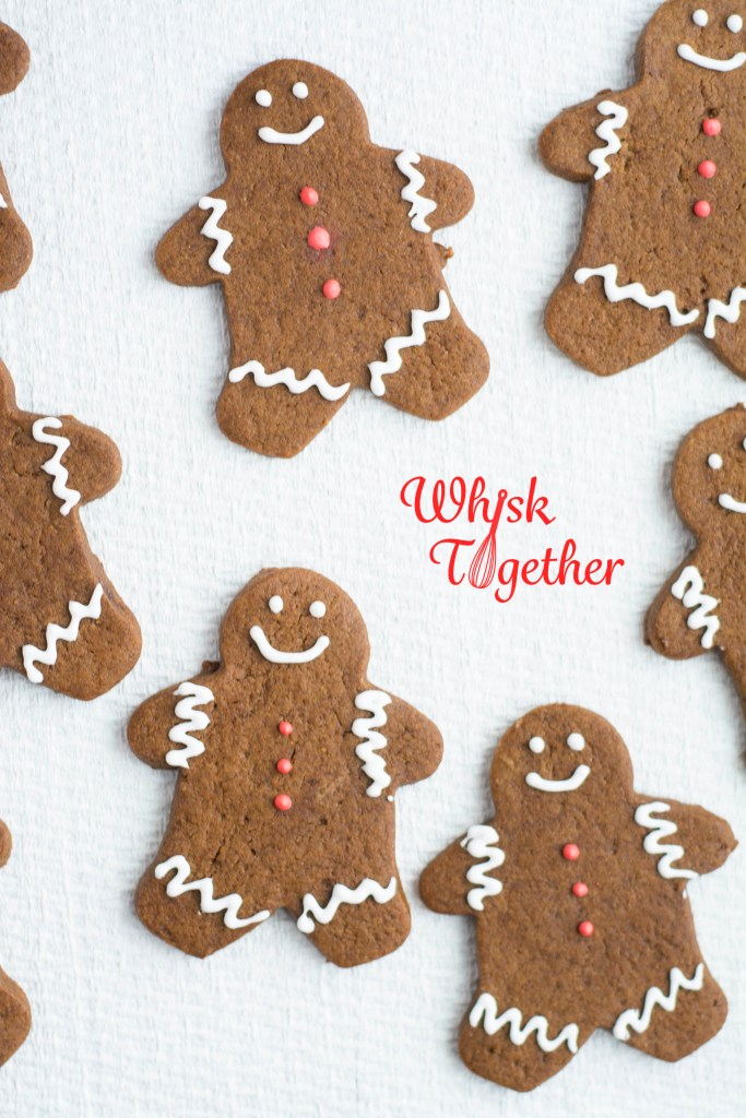 Gingerbread Men on Whisk Together