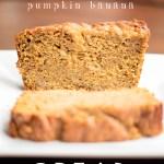 Pumpkin Banana Bread & Book Review