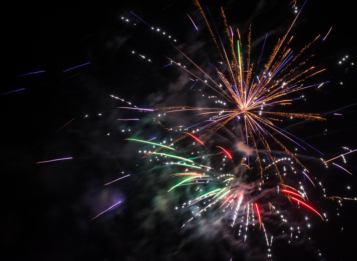 Fireworks Wentzville Missouri Mary Riley Photography