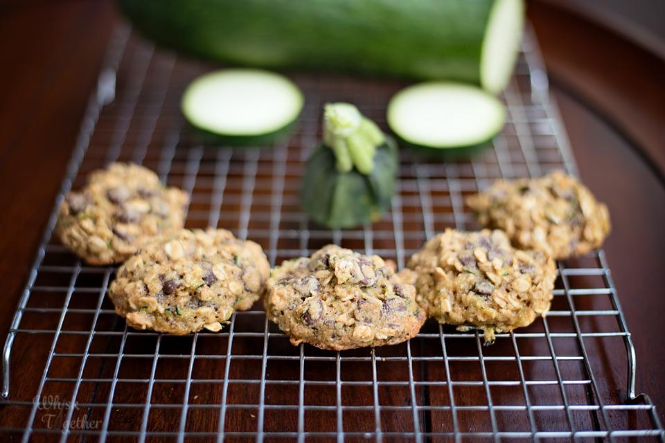 Chocolate Chip Zucchini Cookie Whole Wheat